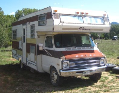 1976 Dodge El Dorado Motor Home